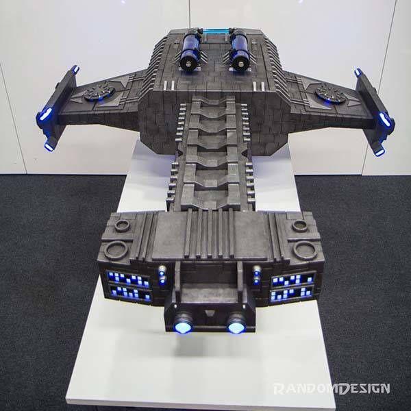 StarCraft 2 Battlecruiser Computer Case Mod