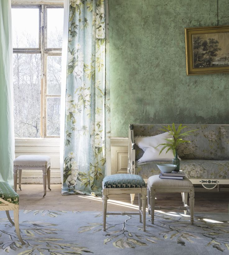 Design Classic | Vintage | Floreale Fabric by Designers Guild | Jane Clayton