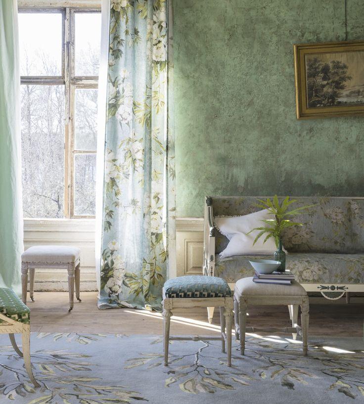 Design Classic | Vintage | Floreale Fabric by Designers Guild | Jane Clayton