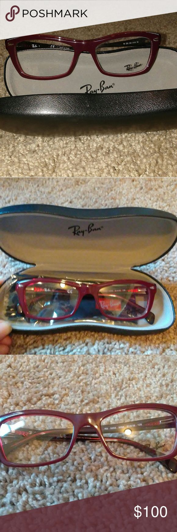 Women's Ray Ban New Ray Ban for women with case and cleaning cloth. Size 51-16-135. Color 5255 Ray-Ban Accessories Glasses