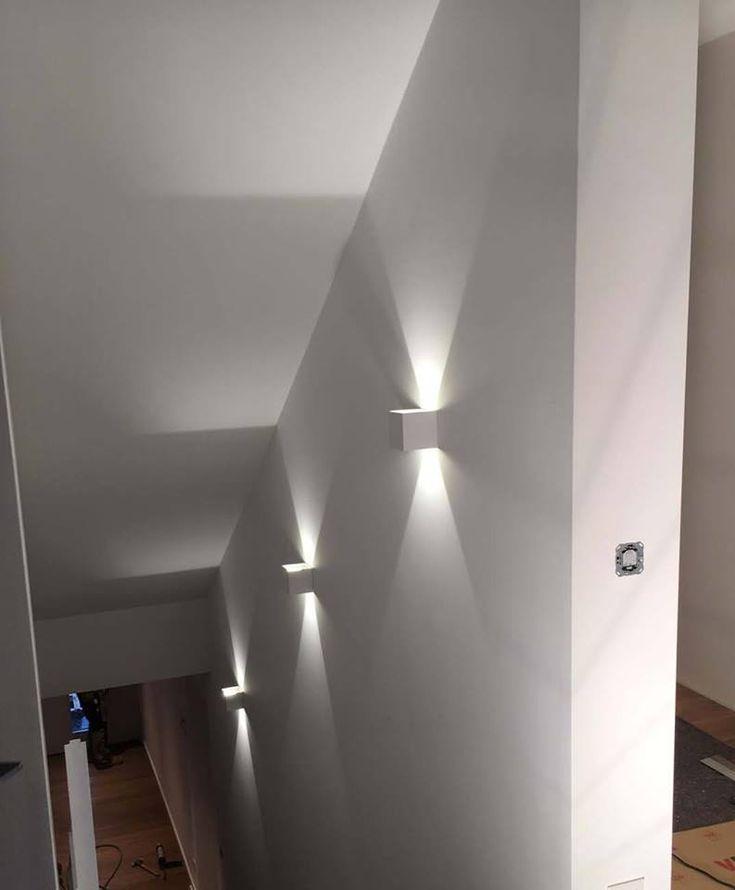 Nice Lichteffekte im Treppenhaus