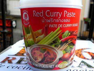 La  Jolie  Cuisine  et  autres...: curry rojo tailandés