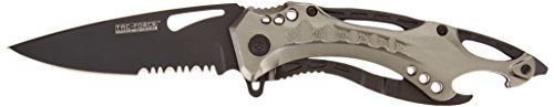 Tac Force TF-705GY Tactical Assisted Opening Folding Knife 4.5-Inch Closed - Check this out at... http://backpackingandcampingessentials.com/camping-knives/tac-force-tf-705gy-tactical-assisted-opening-folding-knife-4-5-inch-closed/