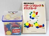 パターンブロック(250ピース)+構成力をのばすパターンブロックタスクカードセット