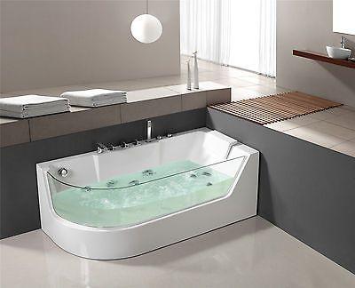 details zu whirlpool badewanne jacuzzi whirlwanne pool 1533 rechts neu - Whirlpool Badewanne Designs Jacuzzi