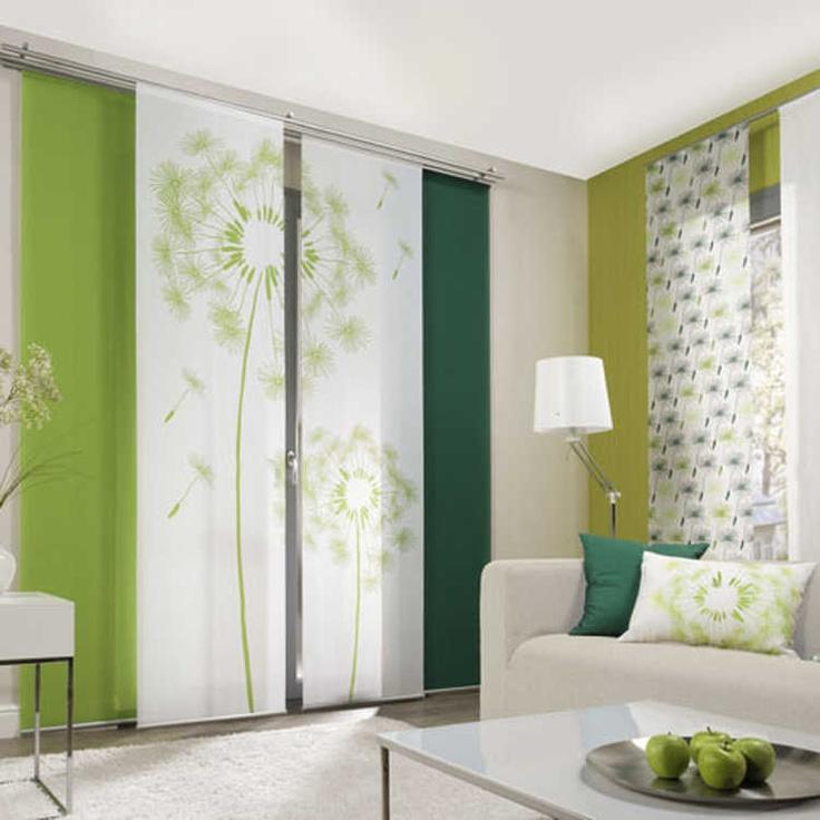 ber ideen zu vorh nge gr n auf pinterest. Black Bedroom Furniture Sets. Home Design Ideas