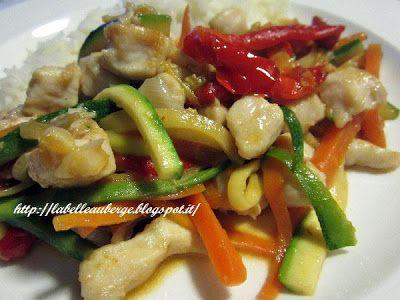 La Belle Auberge: pollo saltato in padella con verdure