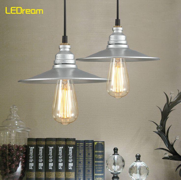 American Pendant Lamp Loft Cafe Restaurant Bar Droplight Industrial Lamps And Lanterns Of Wind Restoring Ancient Ways