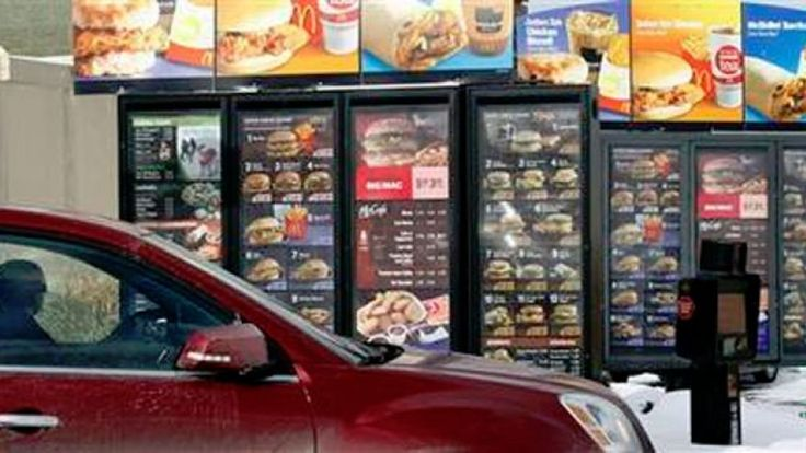 """Top fast food chains revamping food ingredients to be more """"healthy""""."""