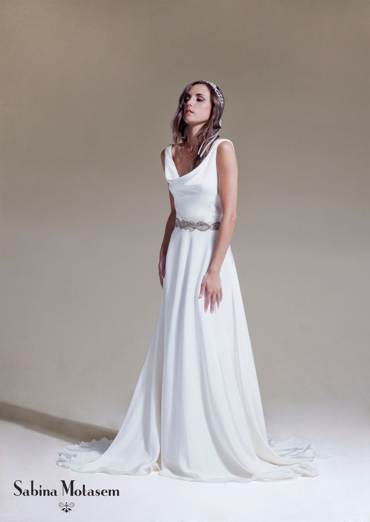 25 best ideas about cowl wedding dress on pinterest for Satin cowl neck wedding dress