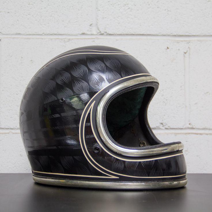 motorcycle helmet vintage full face - Recherche Google