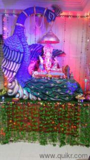 Ganpati decoration Makhar - Used Home Decor - Furnishings - Kothrud, Pune…