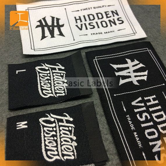 600 custom clothing labels Woven Clothing Labels by wovenlabelZ
