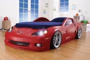 Corvette Bed Set - With Lights Toddler Twin Bed