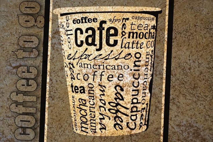 Download Coffee poster stock illustration. Image of caffeine - 104635161
