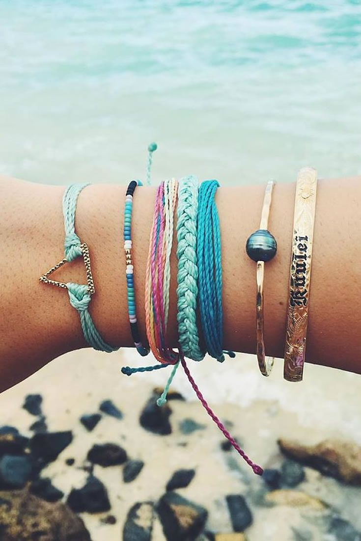bracelet attirepin pretty beautiful the all beach for girls com bracelets
