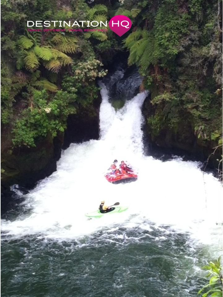 New Zealand White Water Rafting