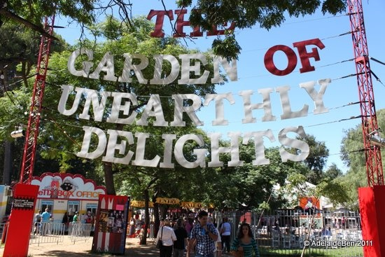 Garden of Above Earthly Delights at the Adelaide Festival