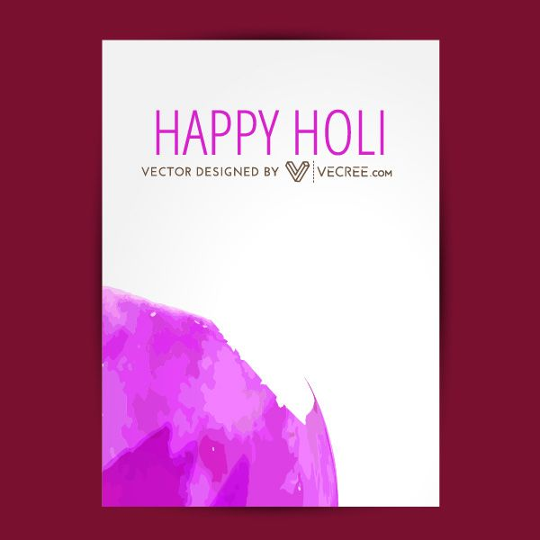Happy Holi Greeting Card Free Vector Download - https://vecree.com/9573804/happy-holi-greeting-card-free-vector-download/