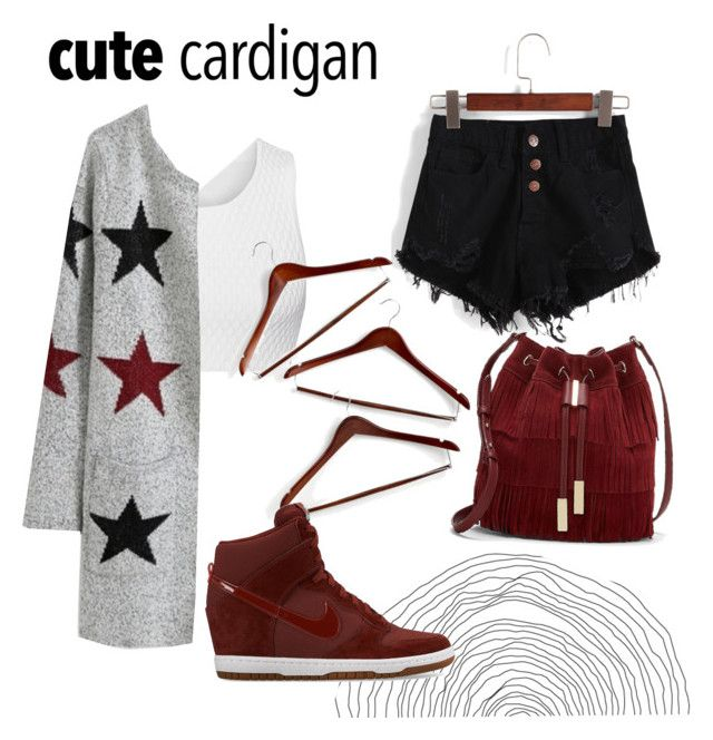 """""""Maroon"""" by aninditaarr on Polyvore featuring Jonathan Simkhai, Vince Camuto, Honey-Can-Do, NIKE, fashionWeek, sneakers, fashiontrend and fashionset"""