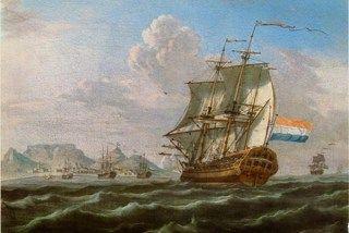 Vrede van Breda (1667)  Einde van de Tweede Engels-Nederlandse Oorlog  Een VOC-schip onderweg tussen Azië en het vaderland.