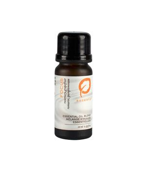 Focus Essential Oil Blend with refreshing and energizing Lemon, Grapefruit and Rosemary essential oils. Add to a diffuser to improve concentration.