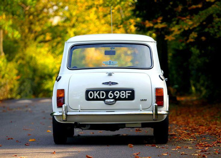 '68 Morris Mini Cooper S