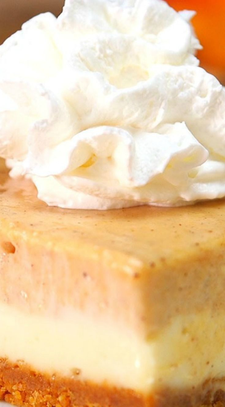 Pumpkin Cheesecake Bars ~ Creamy and delicious