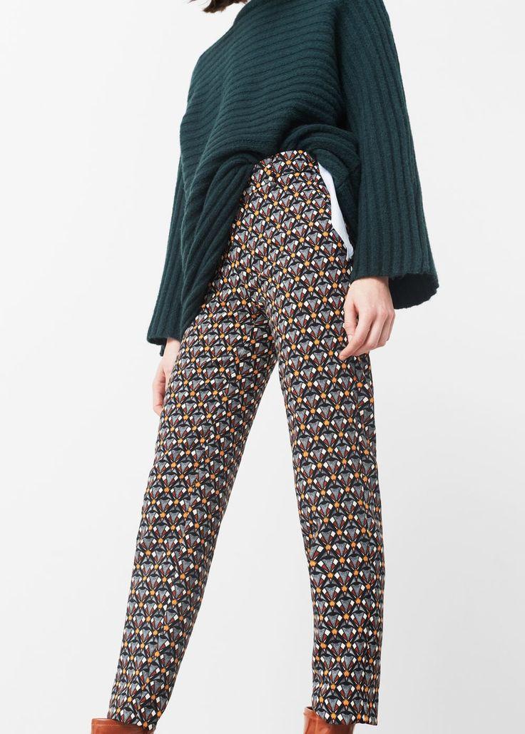 Pantalon imprimé -  Femme | OUTLET France