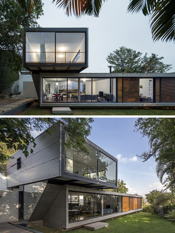 metro arquitetos associados have designed the lp house located in so paulo brazil - Minimalistic House Design