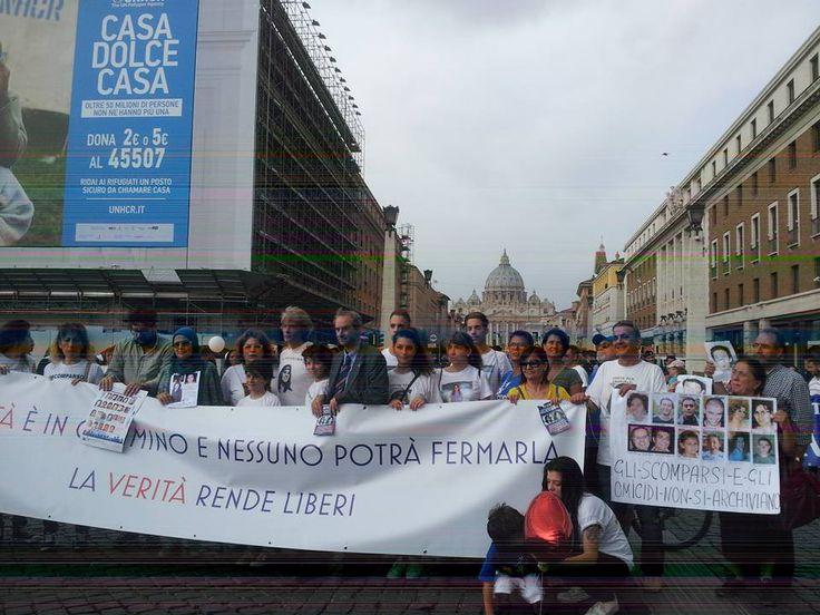 14 giugno 2015 Roma  iniziativa DOVE SEI http://www.fabriziocatalano.it/comitato/