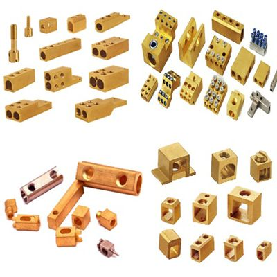 #BrassTerminals  Brass Terminals for PCB Connector Block - Manufacturers of brass terminals for PCB connector block as per specification or custom design. Brass Terminals, Brass Terminal,  Brass Parts, Brass terminals, Brass electric terminals, Brass switchg,