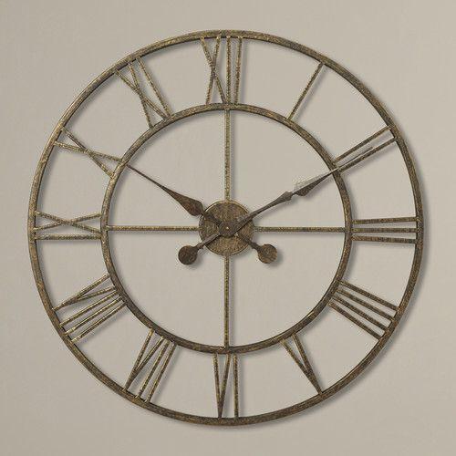 "Found it at Wayfair - Oversized 30"" Skeleton Tower Wall Clock"