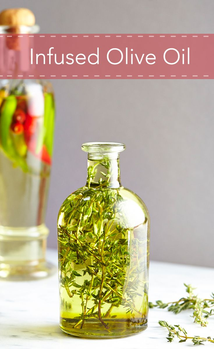 See the two ways to infuse olive oils at home.