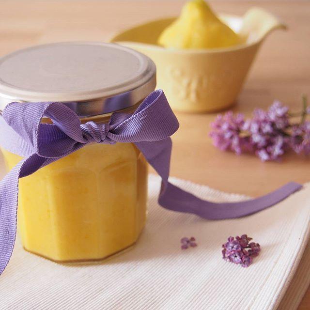 Domácí lemon curd - citronový krém
