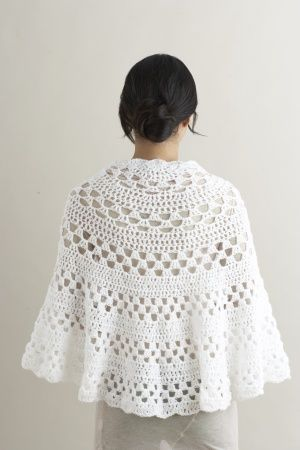 Half Moon Shawl free crochet pattern