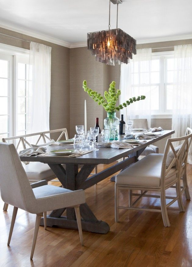 Terrific Transitional Dining Room Design Ideas