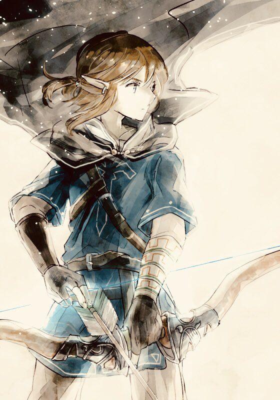 The Legend of Zelda (Breath of the Wild) - Link