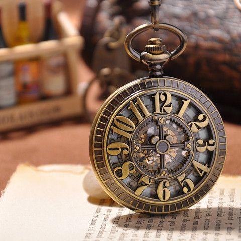 Antique Gold Pocket Watch - Florence Scovel - 1