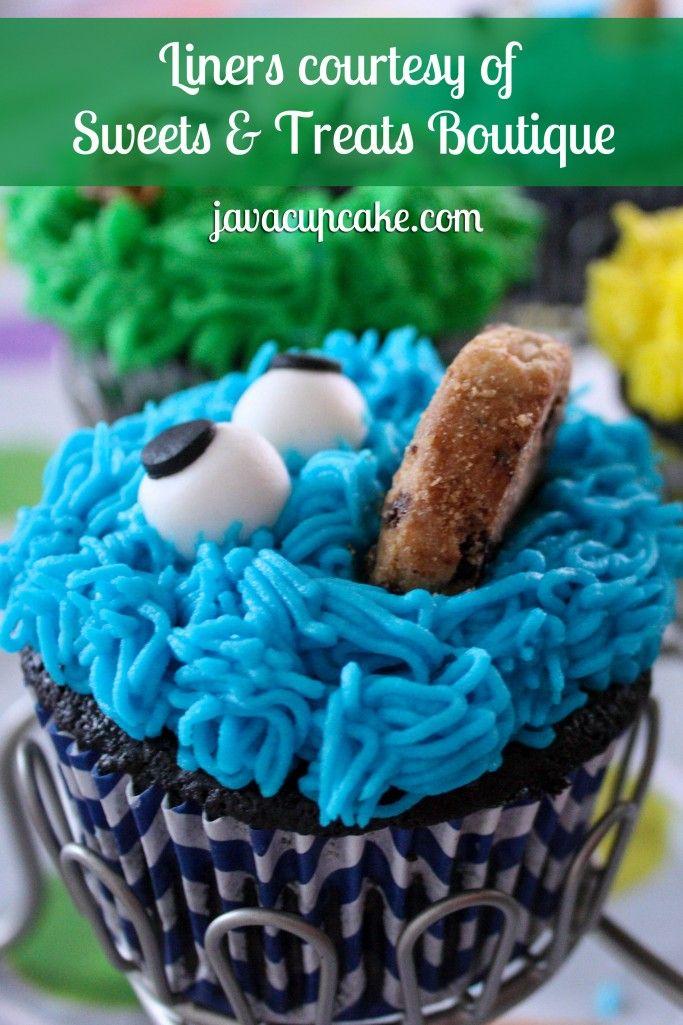 Tutorial: Sesame Street Cupcakes | JavaCupcake.com