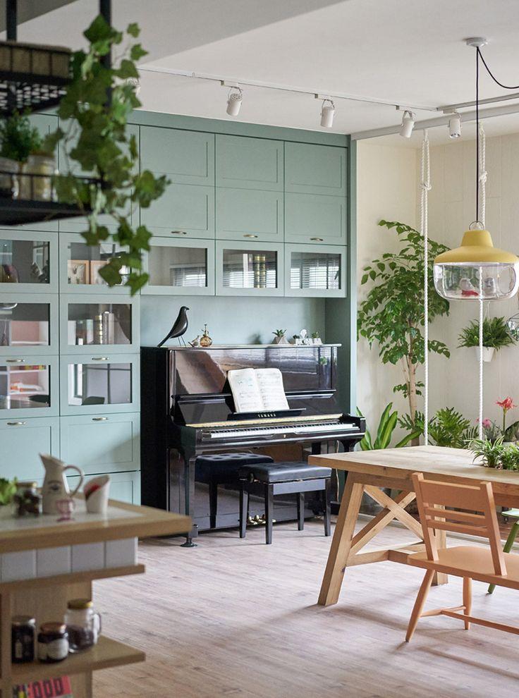 Pianos como parte da decoração  #décor #Decoração #Styling