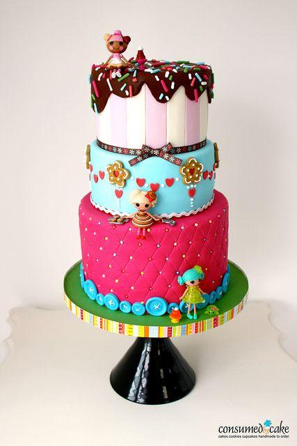Lalaloopsy Birthday Cake by ConsumedbyCake, via Flickr
