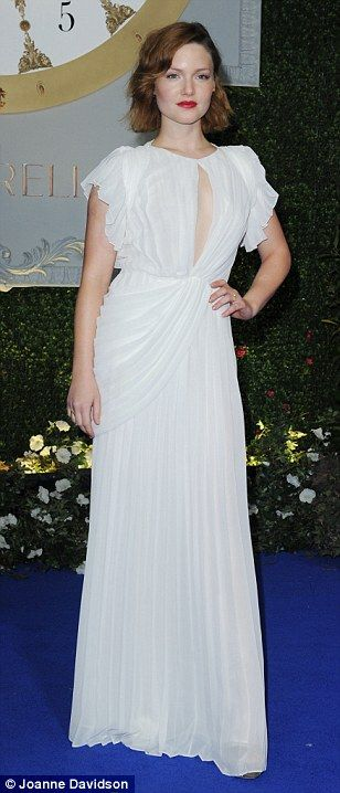 Fabulous fashion choices... Hayley Atwell was also in tow while Sophie andHolliday wowed ...