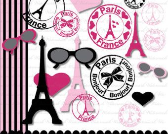 Paris Clip Art Clipart French Clipart Clip Art with by PinkPueblo