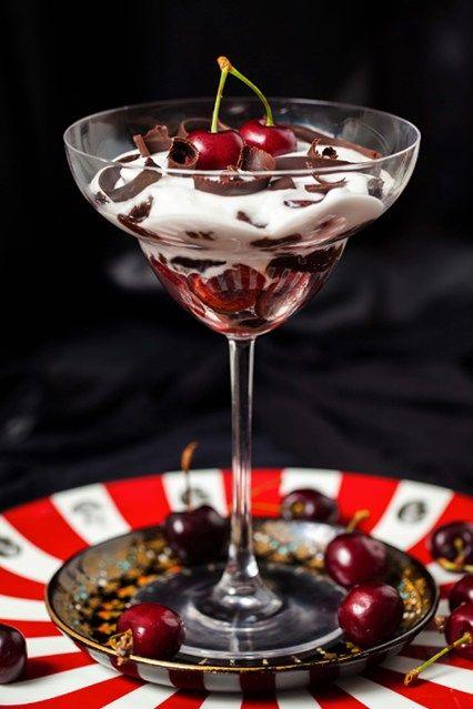 Hemsley & Hemsley: Raw Black Forest Cherry Trifle Recipe (Vogue.com UK)