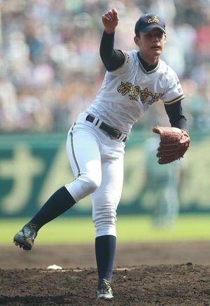 2013年優勝の前橋育英の投手、高橋光成。夏の甲子園の歴代名選手