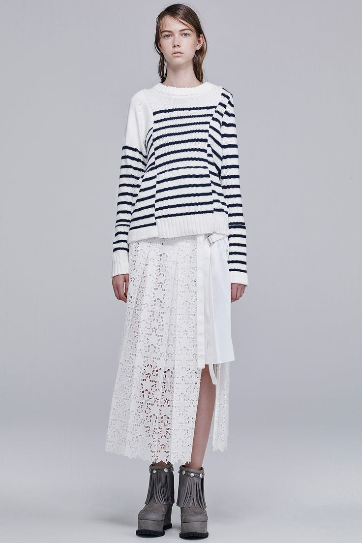 Sacai Resort 2016 - Collection - Gallery - Style.com http://www.style.com/slideshows/fashion-shows/resort-2016/sacai/collection/24