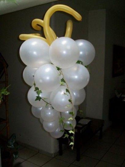 Decoración Primera Comunión: fotos ideas con globos