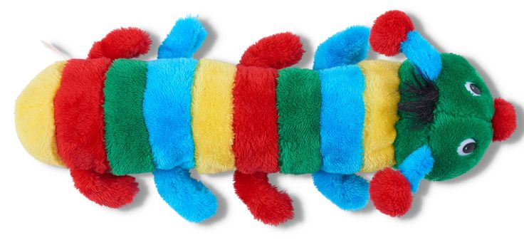 Soft toy caterpillar from Whitcoulls $14.99