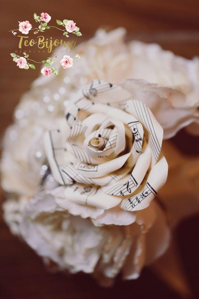 Buchet nunta, eveniment tematic Music ..till the end of love #decoratiuni_nunta #wedding #bridal #TeoBijoux #wedding_planner